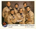 Space team Canada (R.Bondar, K.Money, Bob Thirsk, S.McLean, M.Garneau a B.Tryggvason)