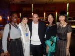 _ Jean-Louis Nicaise, Denise Perrier, Diana Thierry-Mieg a Christina Hui
